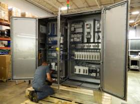 Custom Electrical Control Boxes, Cabinets, and Panels